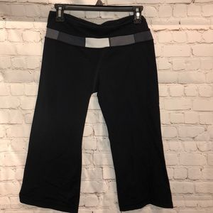 Lululemon flare high water yoga pants
